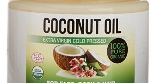 Körper-Kokosöl Test