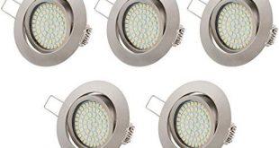 LED Einbaustrahler Test