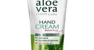 Aloe Vera Handcreme Test
