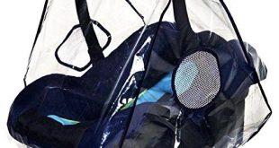 Autositz Regenschutz Test