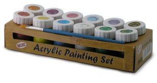 Acrylfarben Test