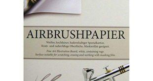 Airbrushpapier Test