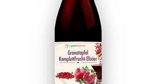 Granatapfel Fruchtextrakt Test