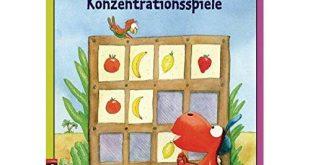 Konzentrationsspiele Buch Test