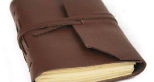Leder Notizbuch Test
