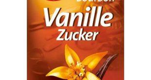 Vanillezucker Test
