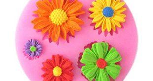 Blumen Silikonform Test